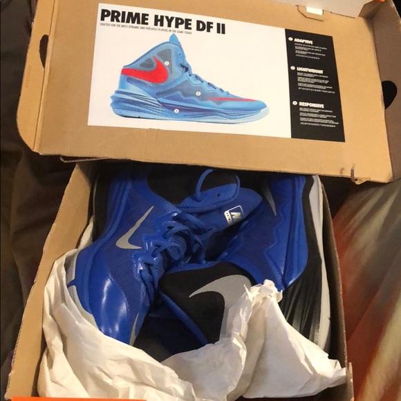 new product 67842 7d4e4 Men s 9.5 Nike Prime Hype DF II